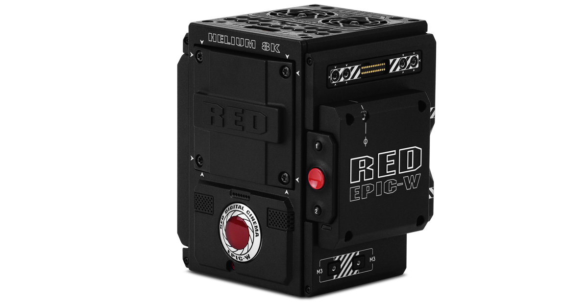 RED EPIC W HELIUM